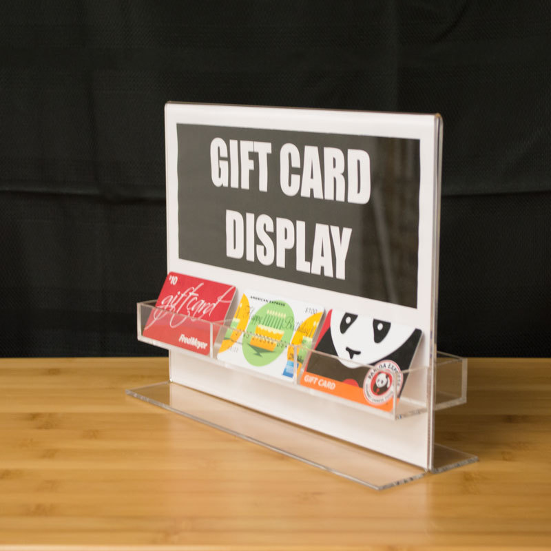 One Sale Gift Card Loyalty Card Display W 11 W X 8 5 H Sign