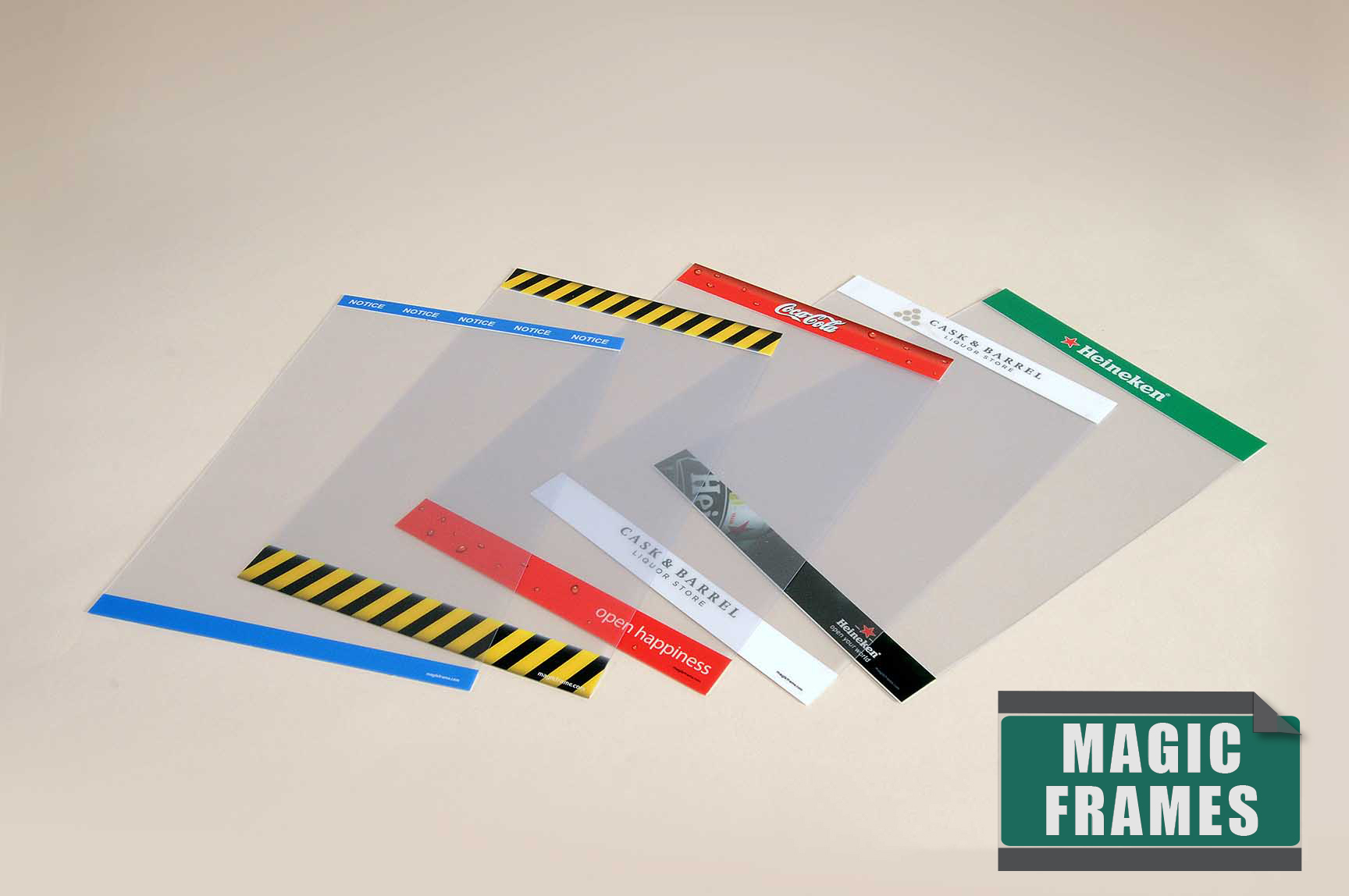 Customize Your Reusable Magic Frames - The Global Display Solution™