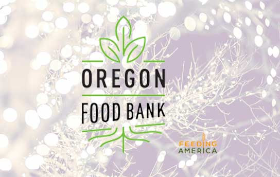 3% of all online sales will be donated to the oregon food bank