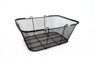 Black Mesh Wire Basket